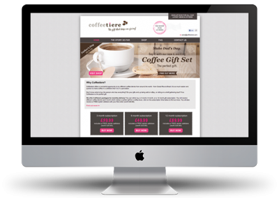 Coffeetiere website