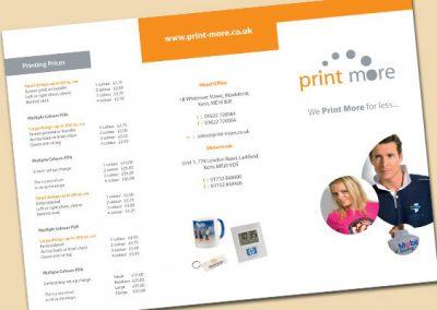 Print More Leaflet