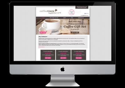 Coffeetiere website