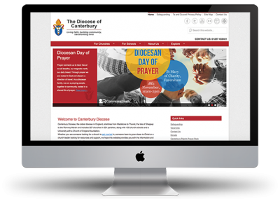 Diocese of Canterbury website