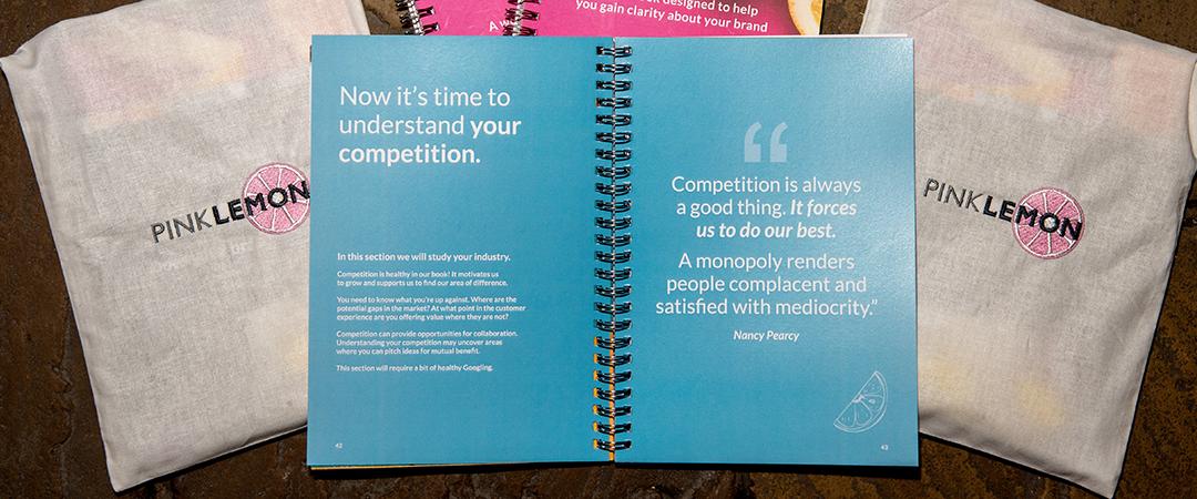 Branding workbook competition