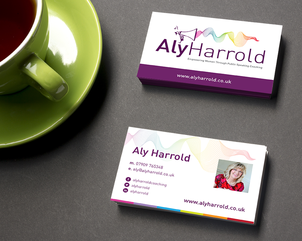 Aly Harrold business cards