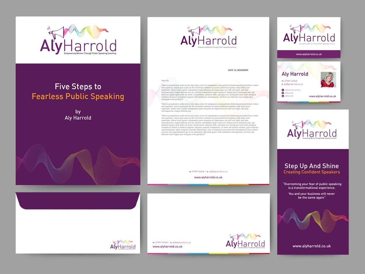 Aly Harrold branding