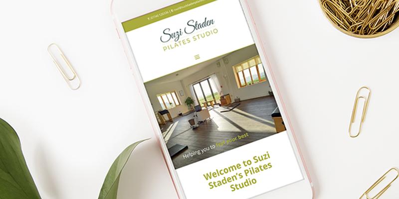 Suzi Staden Pilates website design