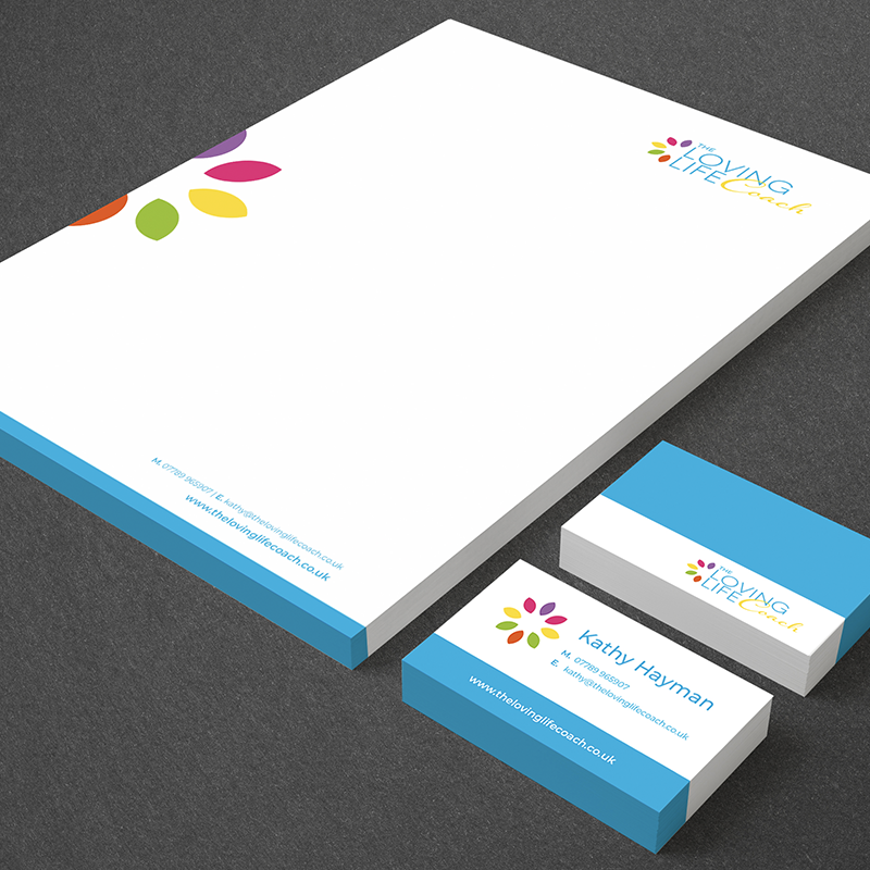 TLLC stationery design